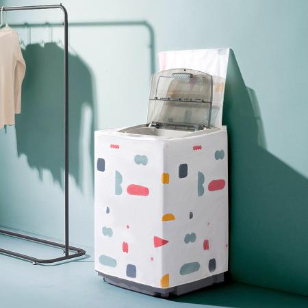 [JM]优质防水洗衣机防尘罩·翻盖式