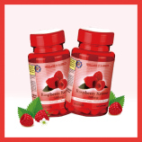 跨境品荷博树莓酮提取物胶囊60粒*2瓶