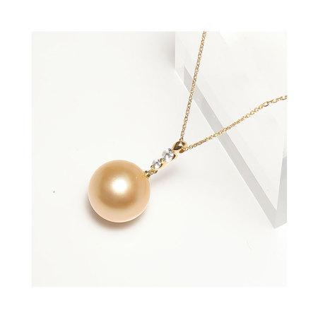 【此商品售出后,如无质量问题不退不换】金色南洋海水珍珠项链(2573383)