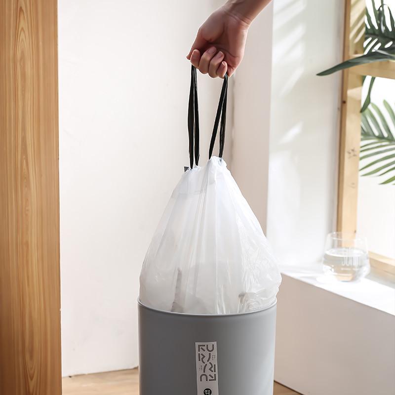 多派大容量手提式垃圾袋12卷*15只/盒