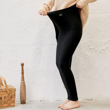 2019新款加绒大码可外穿打底裤--3色可选!