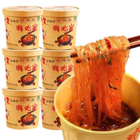 嗨吃家网红酸辣粉130g*6盒