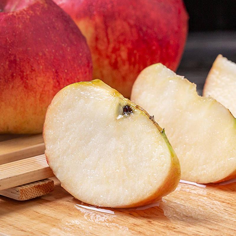 盐源丑苹果带箱8斤约20-24个,脆甜可口,皮薄多汁,果味浓郁
