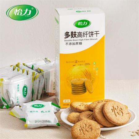怡力多麸高纤饼干216g/盒*3盒