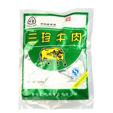 三珍斋 牛肉100g*6袋