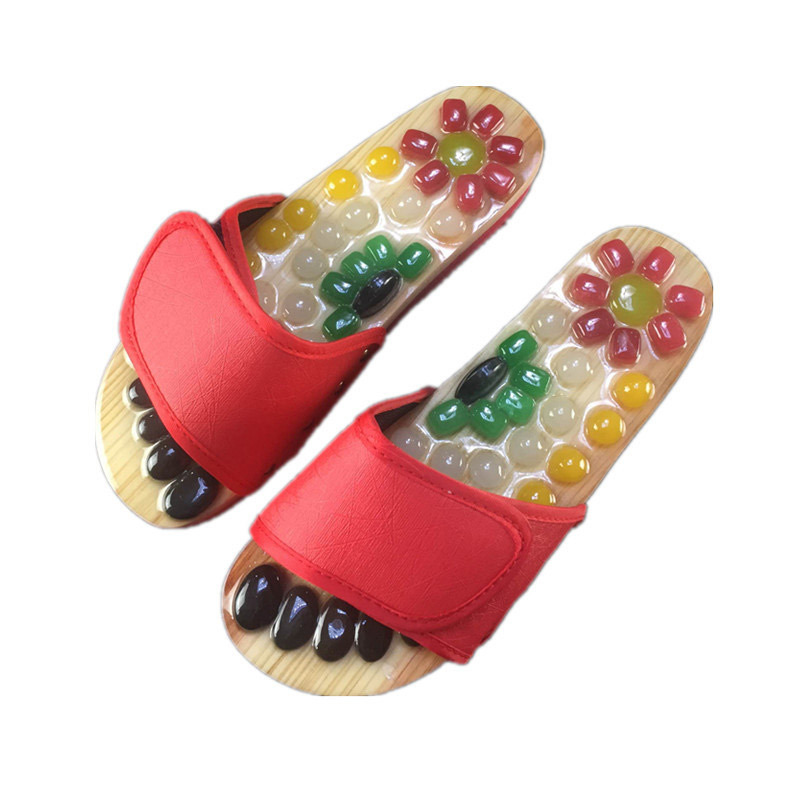 养生宝鹅卵石按摩拖鞋---提高睡眠质量!增强人体免疫力!促进血液循环!缓解亚健康!