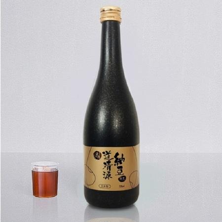 日本进口道清源纳豆酵素原液720ml/瓶