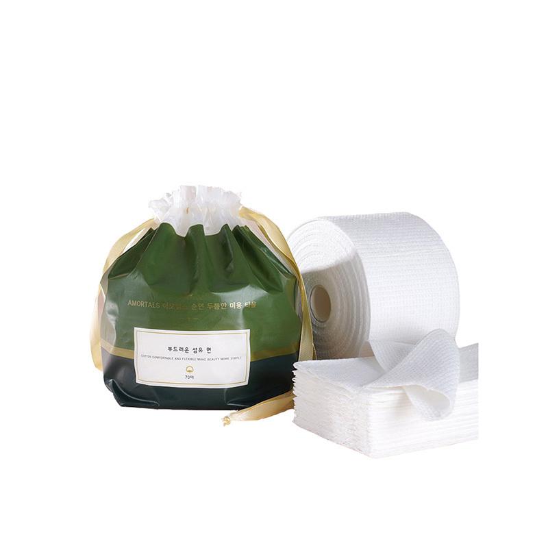 韩国尔木萄加厚型卷筒式洁面洗脸巾*3包(70抽/包)