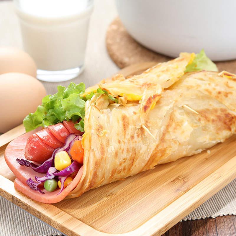原味手抓饼80g*30片,家庭早餐必备,酥香可口,方便美味  共同