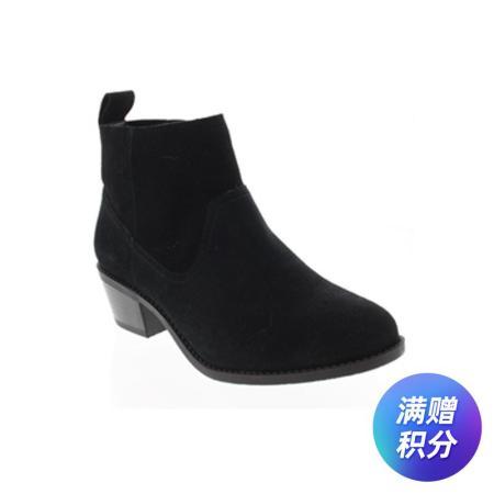 美国法欧尼VIONIC牛皮功能女靴·黑色