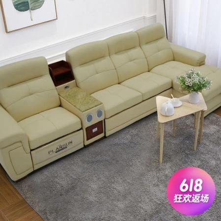 潘神多功能电动豪华牛皮沙发【惠买价¥9999,预付定金¥3300】